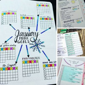 Track your life with these genius bullet journal spreads!