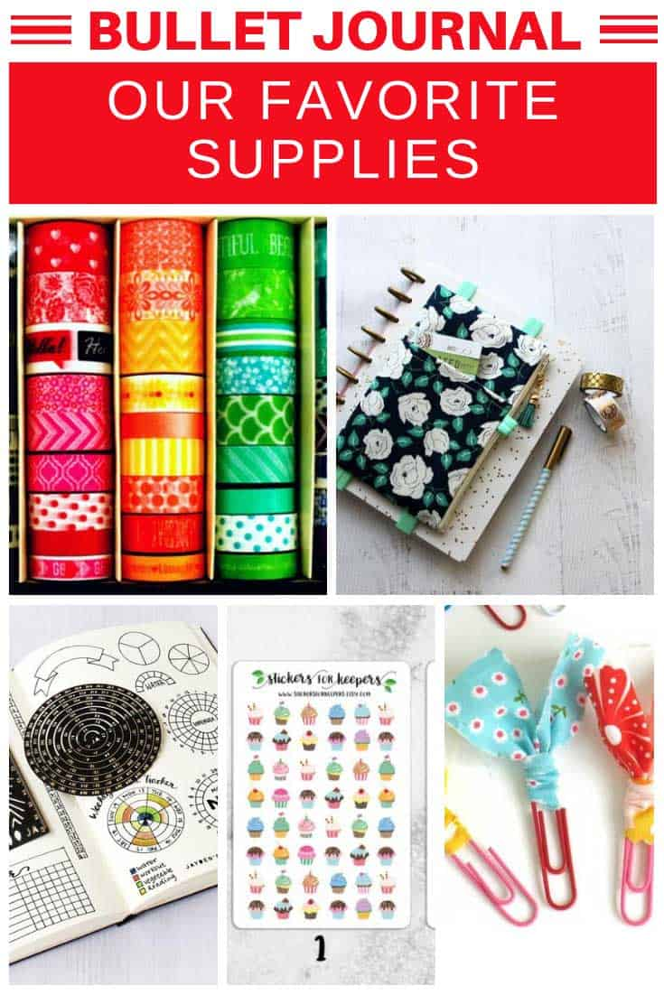 Bullet Journal Supplies {Must have items that make great gift ideas!}