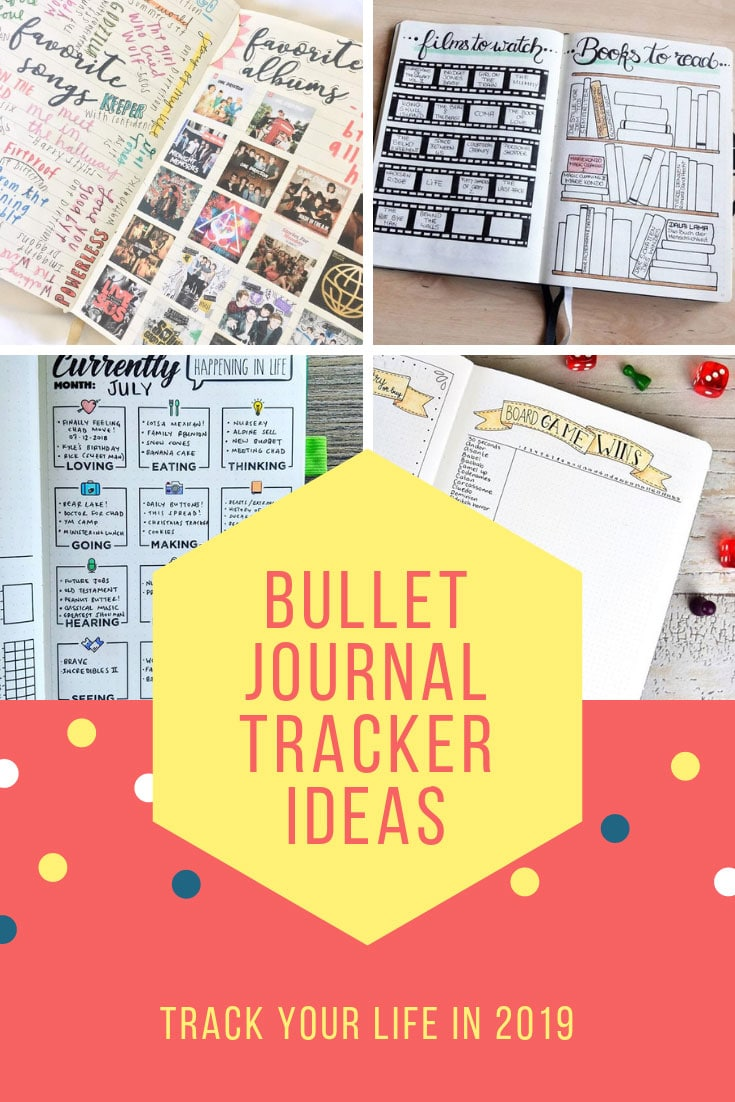 Bullet Journal Tracker Ideas Books Movies