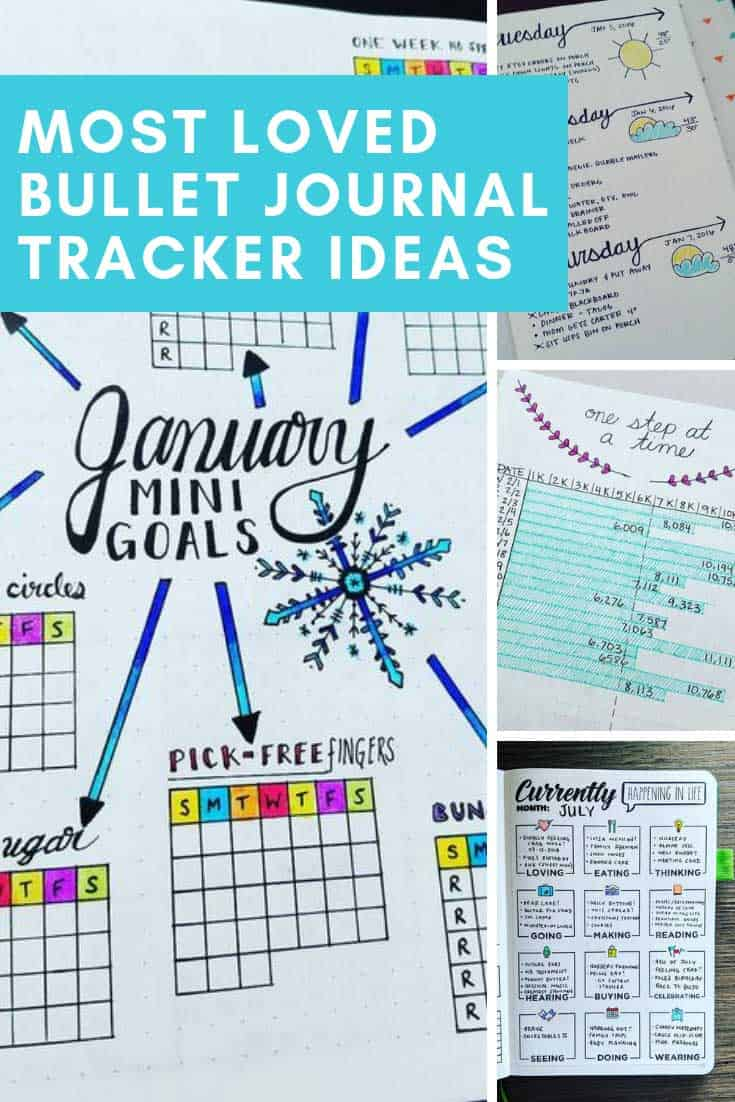 Bullet journal tracker ideas and layouts you need to try in 2019 and beyond!