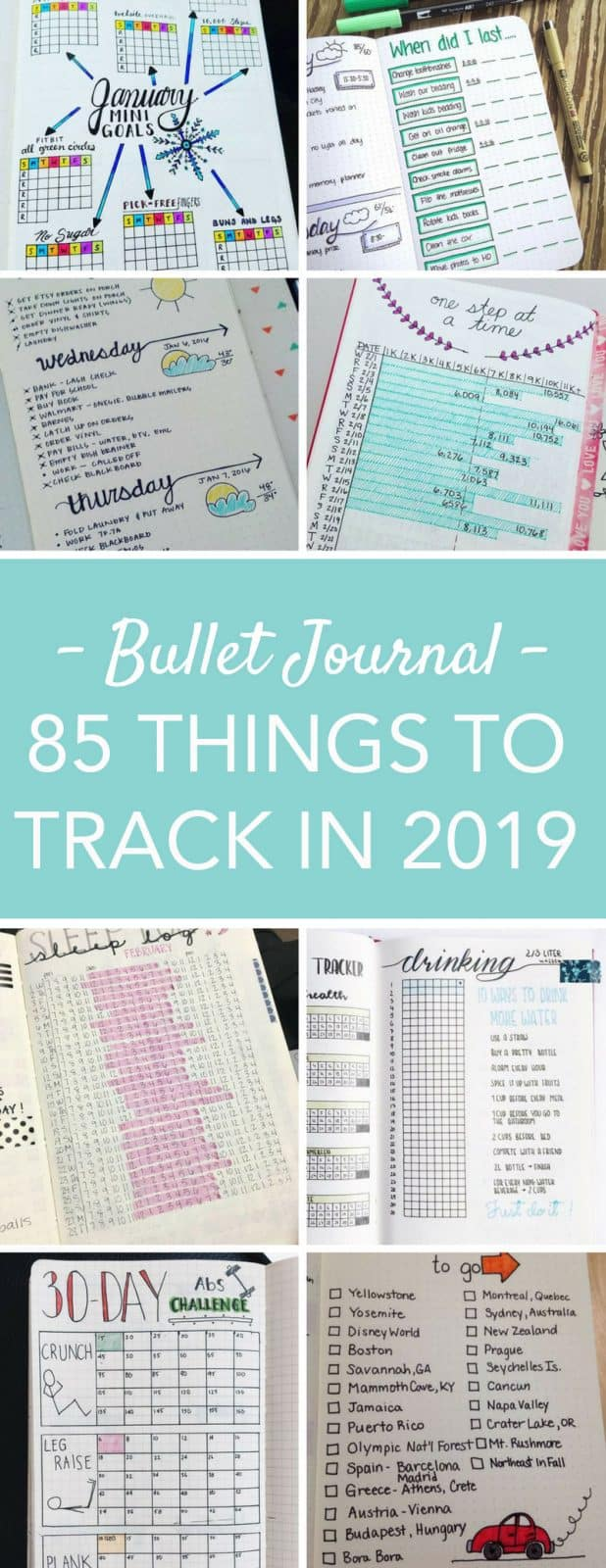 bullet journal tracker ideas 2019 the ultimate list of layouts. Black Bedroom Furniture Sets. Home Design Ideas