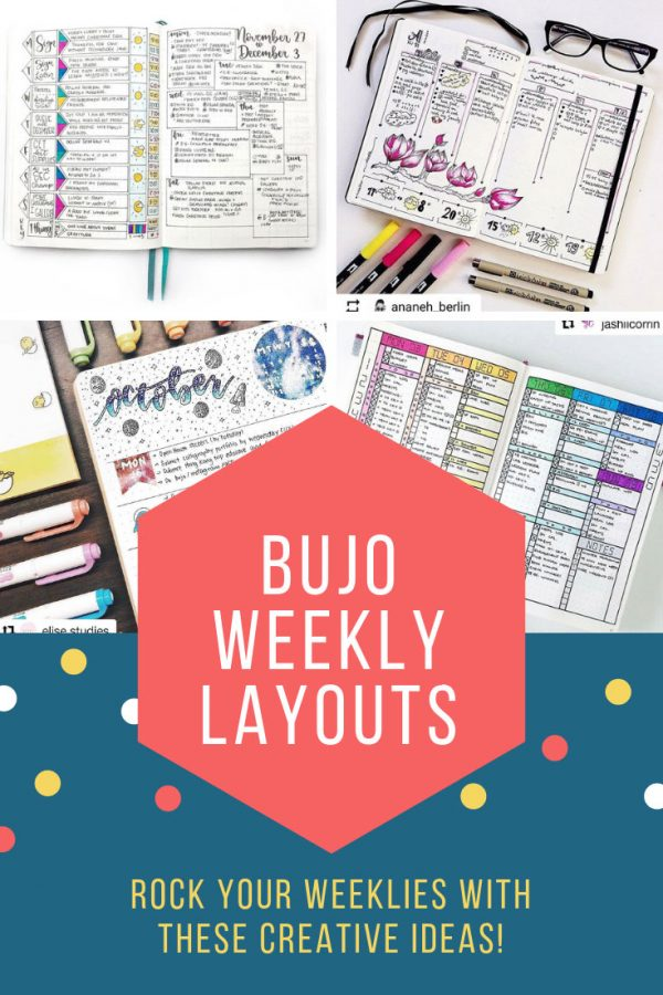 Bullet Journal Weekly Layouts You'll Love
