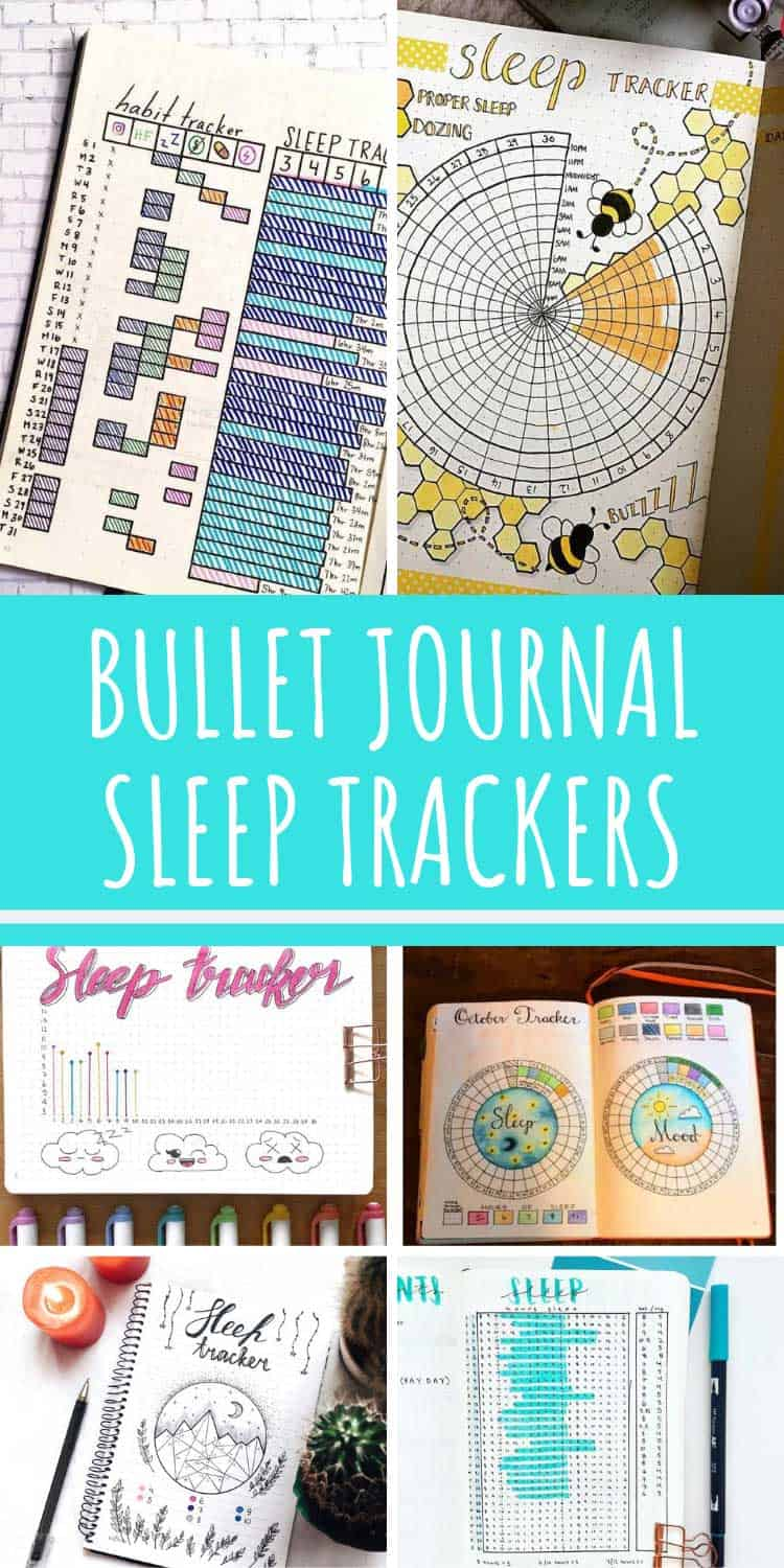Wow so many great ideas for bullet journal sleep trackers all in one place!