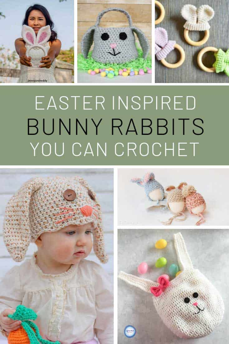 Loving these bunny rabbit crochet patterns!