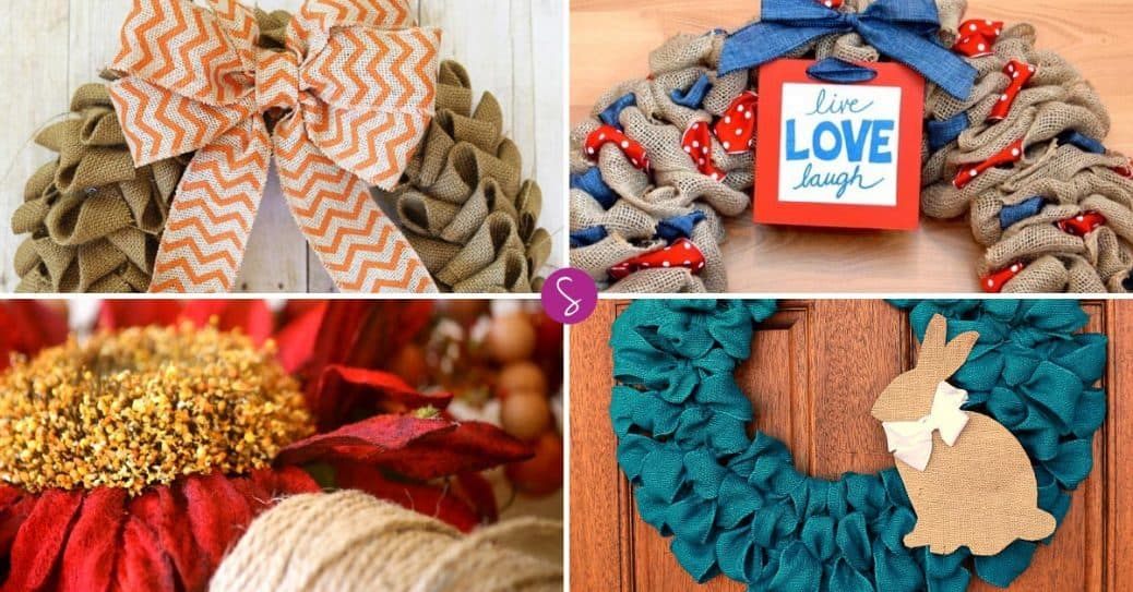 Gorgeous Burlap Wreath Ideas That Will Make Your Neighbors Jealous!