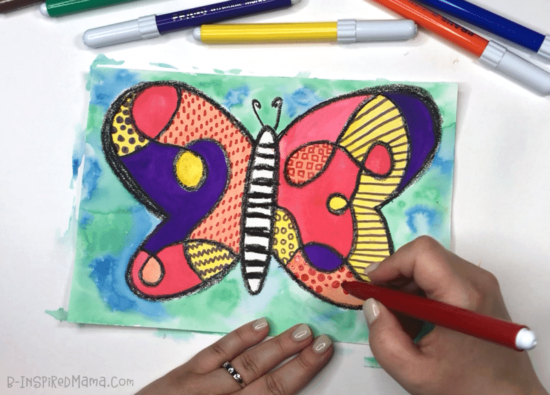 A Fun Watercolor Painting for Kids
