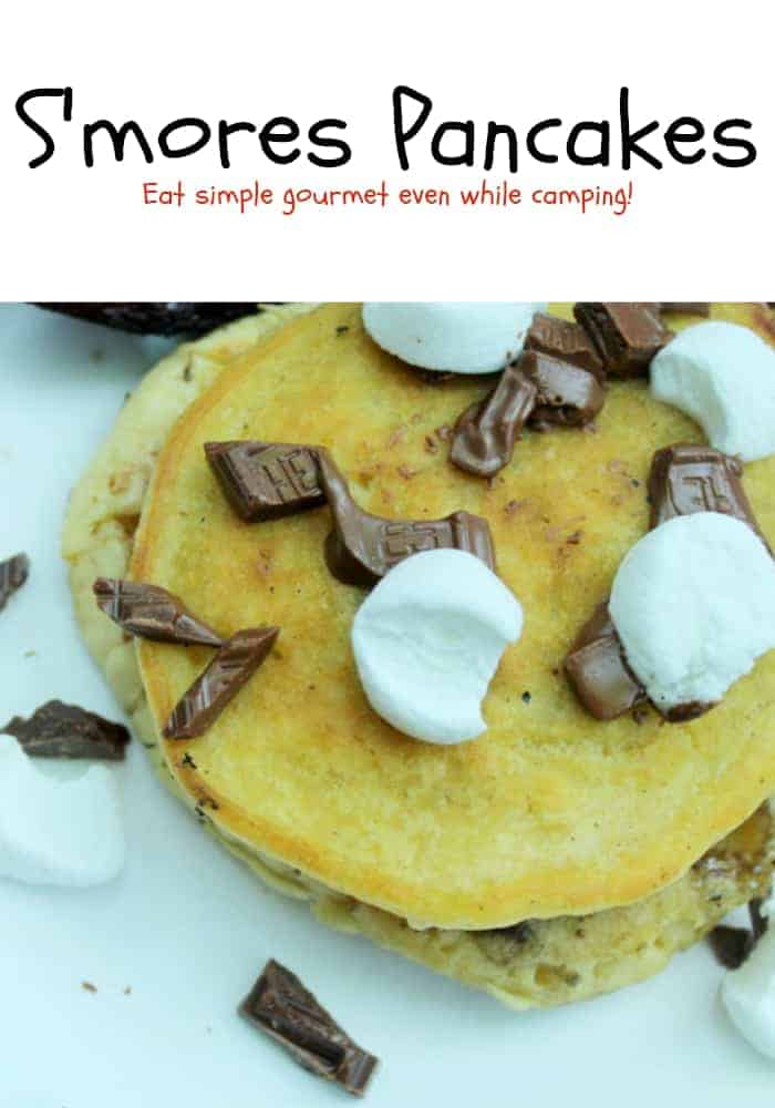 Easy S'mores Pancake Recipe