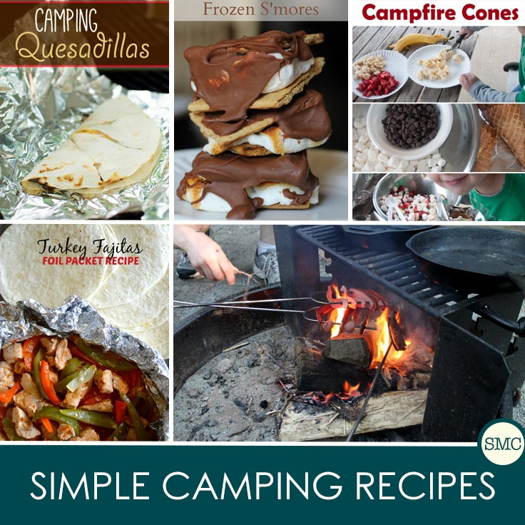 You can't beat simple food cooked over an open fire - love these camping recipes!