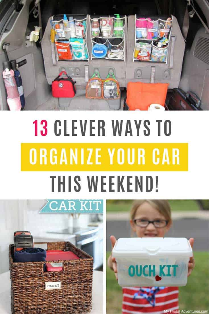 These car organizing hacks and ideas are just what you need to end the chaos that reins in your trunk
