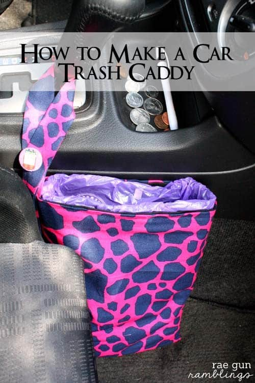 How to Make a Car Trash Caddy