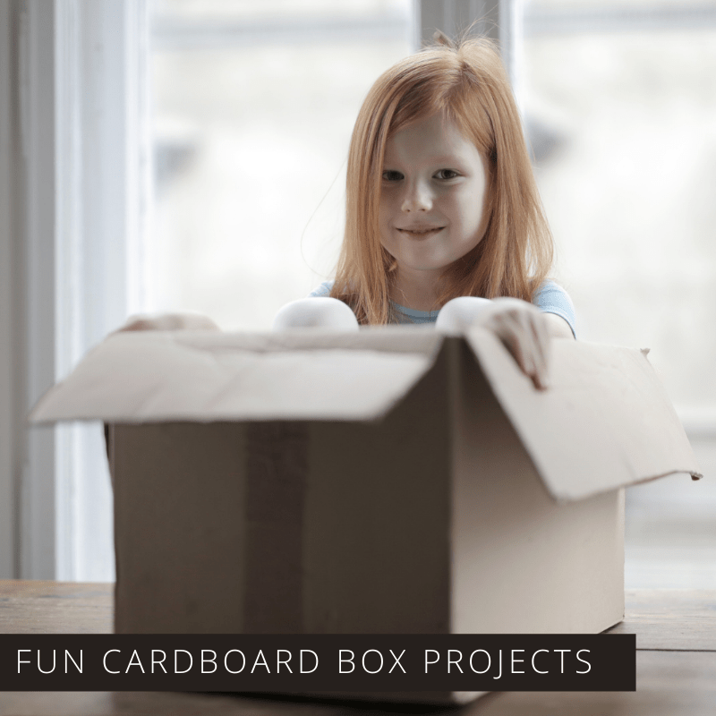 Fun Recycled Cardboard Box Crafts for Kids of All Ages