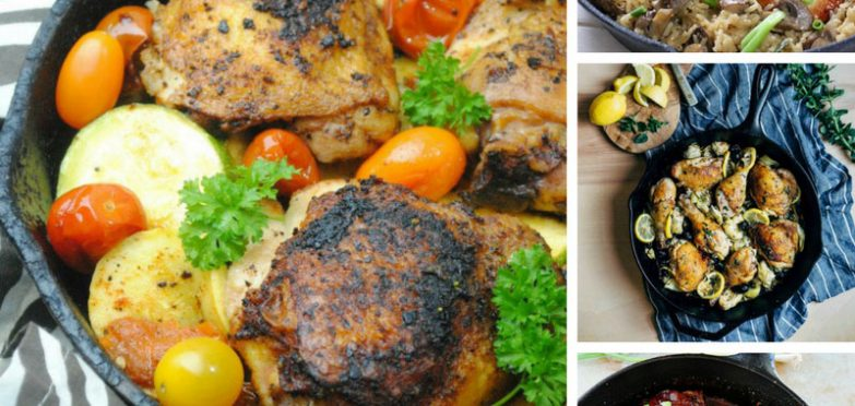 My mouth is watering at the sight of these cast iron skillet chicken recipes! Thanks for sharing!