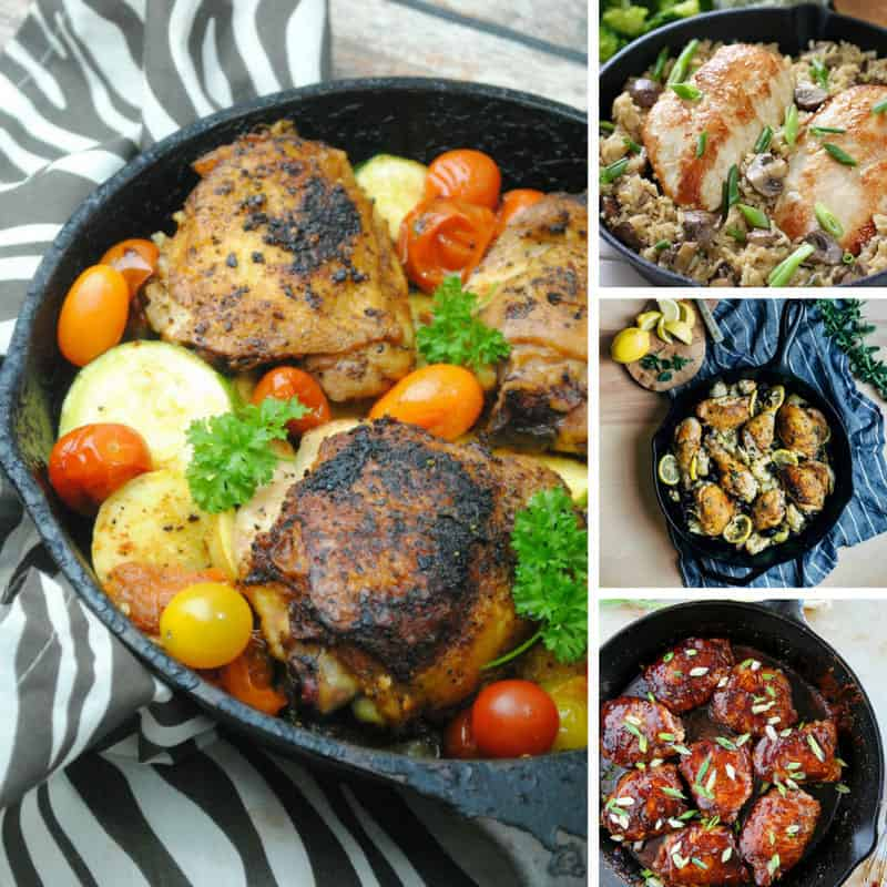 12 Cast Iron Pan Chicken Recipes That'll Make You Want To