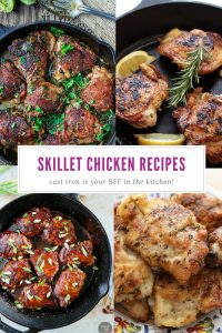 Cast Iron Skillet Chicken Thigh Recipes | Best Chicken Cast Iron Pan Recipes