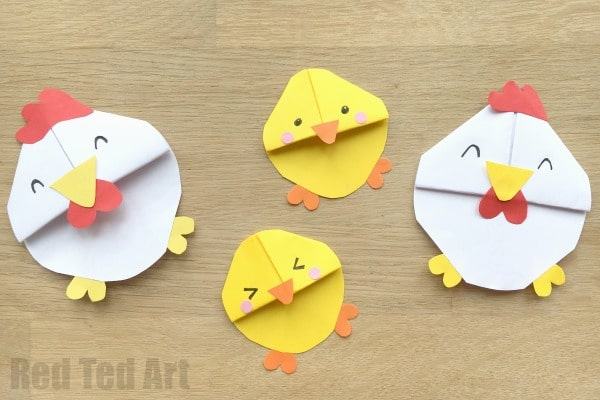 DIY Chick Corner Bookmark