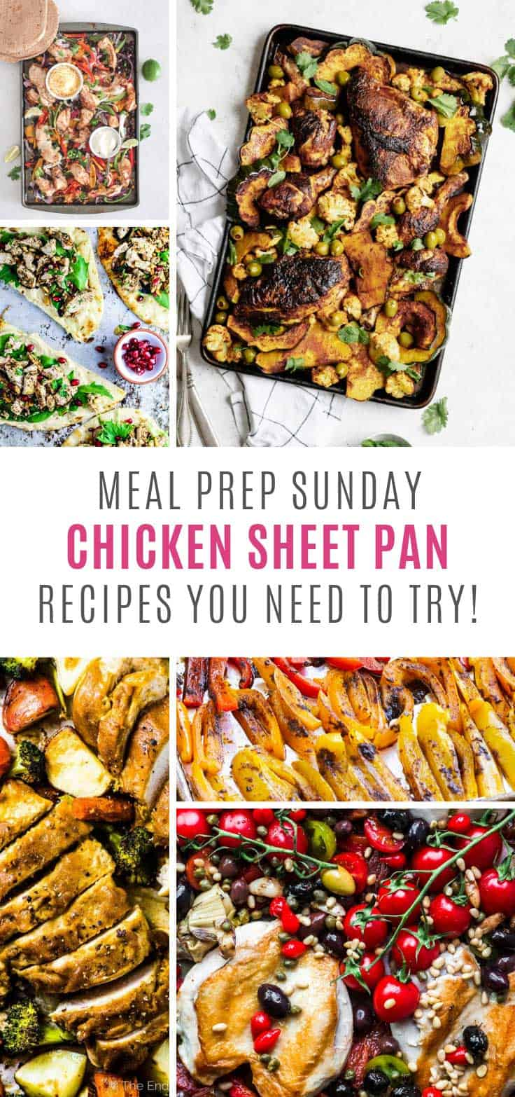You totally need to try these chicken sheet pan recipes in your meal prep rotation!