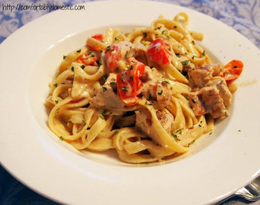 Cajun Chicken Fettuccine Alfredo Recipe
