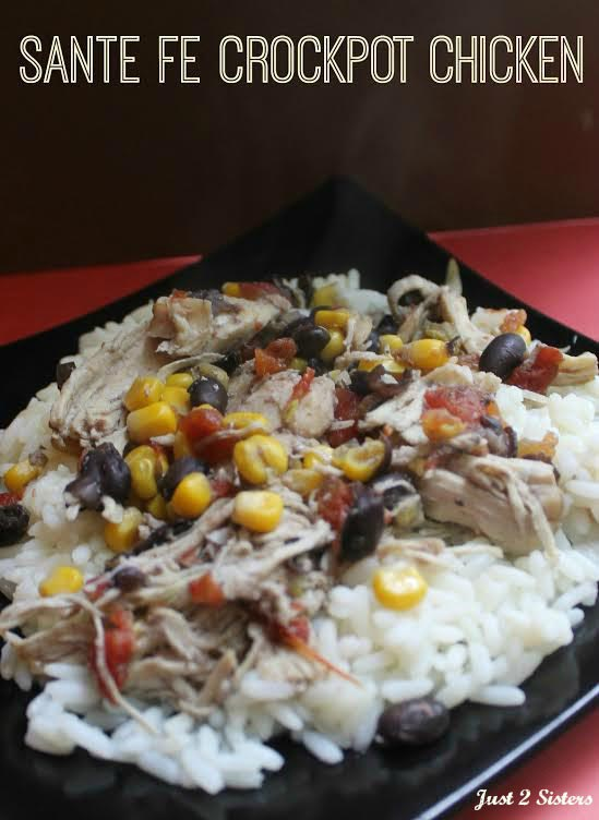 Santa Fe Crock Pot Chicken