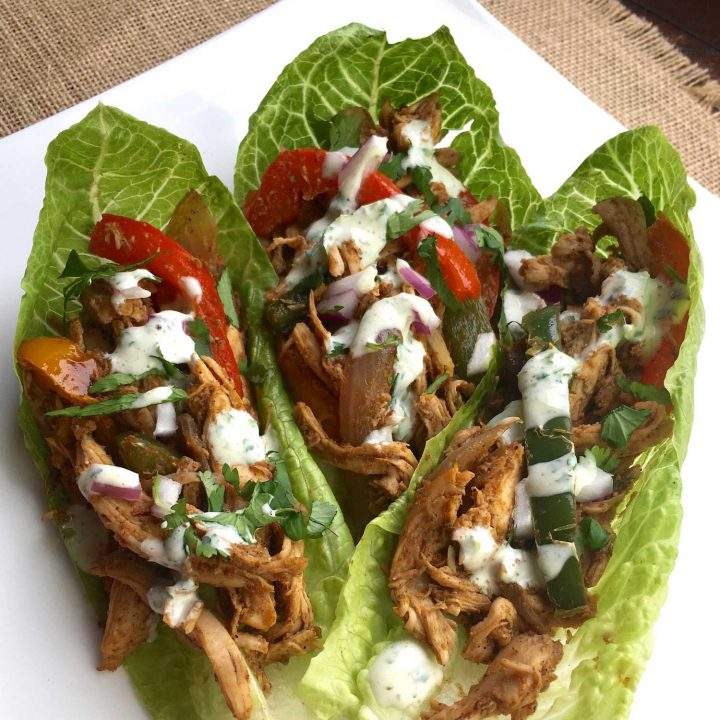 Chicken Fajita Wraps with 