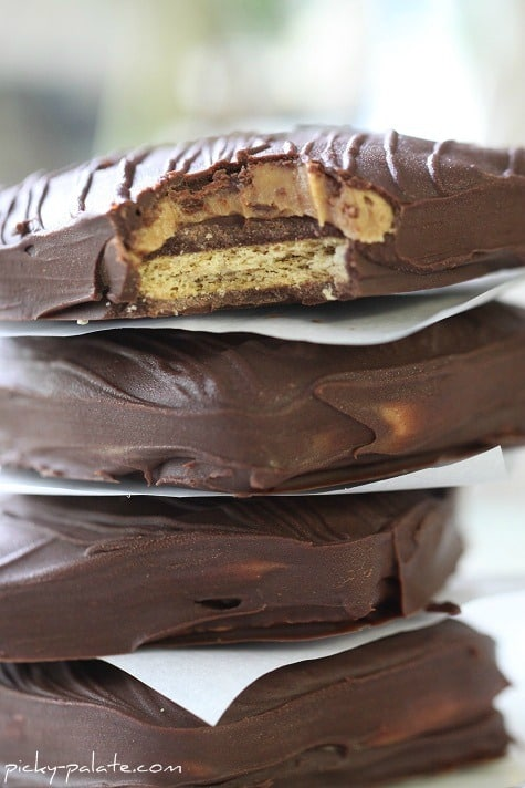 Copycat Chocolate Peanut Butter Sandwiches from Disneyland