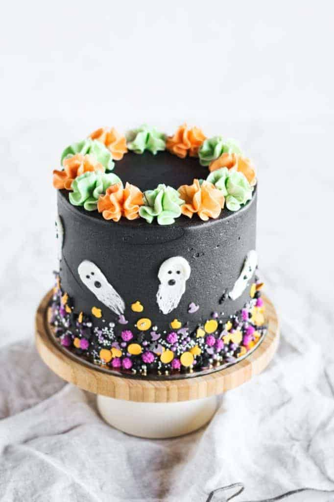 Halloween Edition Chocolate Oreo Cake