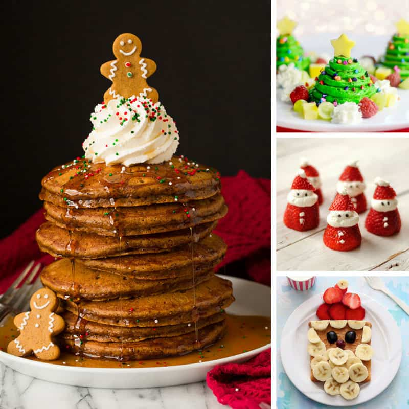 LOVE these Christmas breakfast treats - they are totally cute and my kids will go crazy for them!