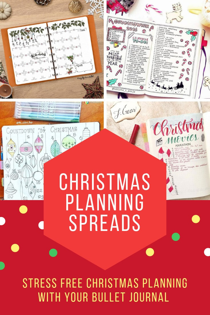 Christmas Bullet Journal Ideas