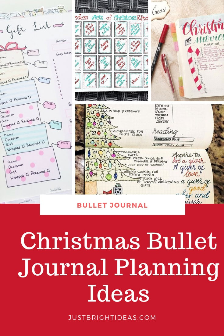 Christmas Bullet Journal Planning Ideas