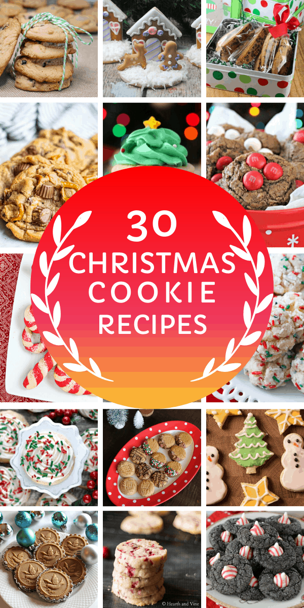 yum! So many delicious Christmas cookie recipes to choose from here you'll be spoilt for choice!