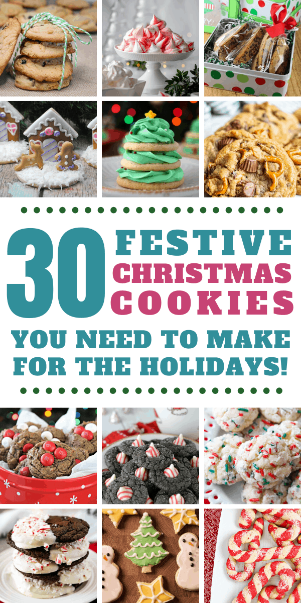Oh my! Who knew there were so many different Christmas cookie recipes to choose from! I'll be baking all the way until next Christmas!