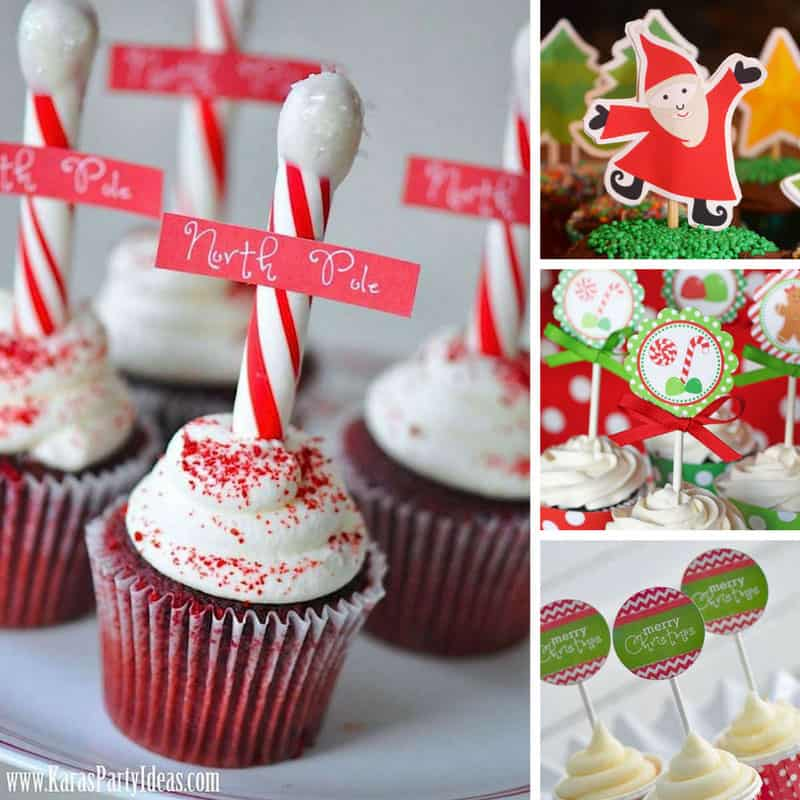 10 Christmas Cupcake Toppers To Make Your Cakes Look Fabulously Festive
