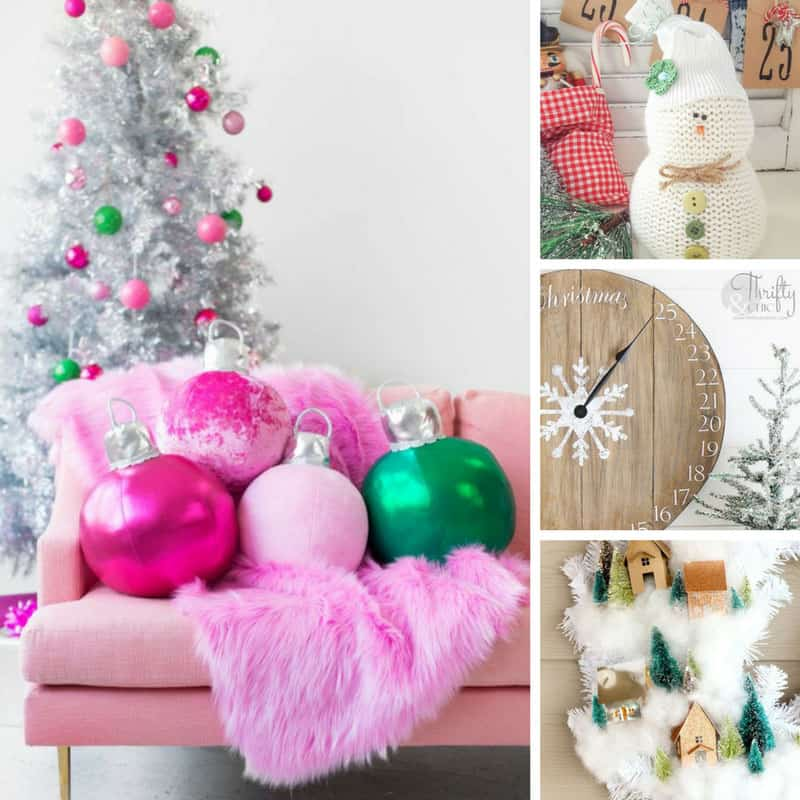 Those ornament cushions are stunning! So many fabulous Christmas decorations here that I don't need to be a pro to make myself!