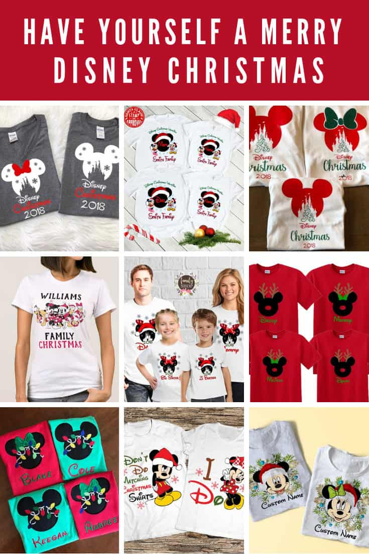 Christmas Disney Shirts for Family