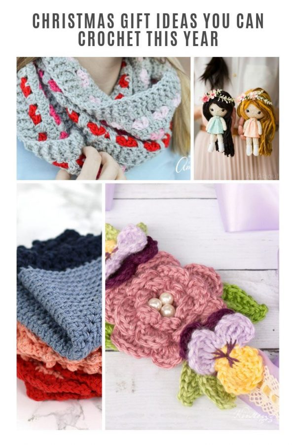 So many great Christmas gifts to crochet for everyone on my list this year! #crochet #christmas