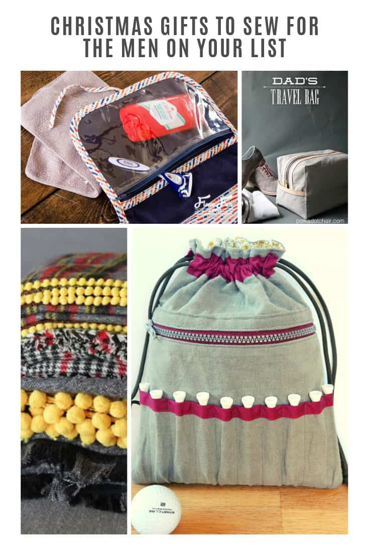 These Christmas gifts to sew for men are perfect for the guy on your list who seems to have everything already!