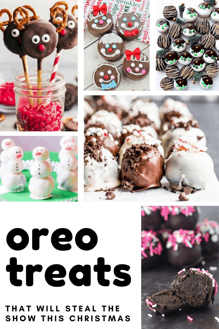 Oh boy! Your fam will LOVE these Oreo treats this Christmas!