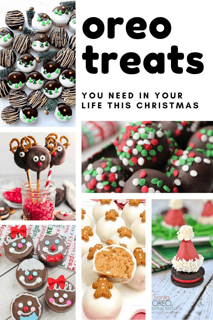 YUMMY! Totally need some of these oreo cookie treats in our tummies this Christmas!