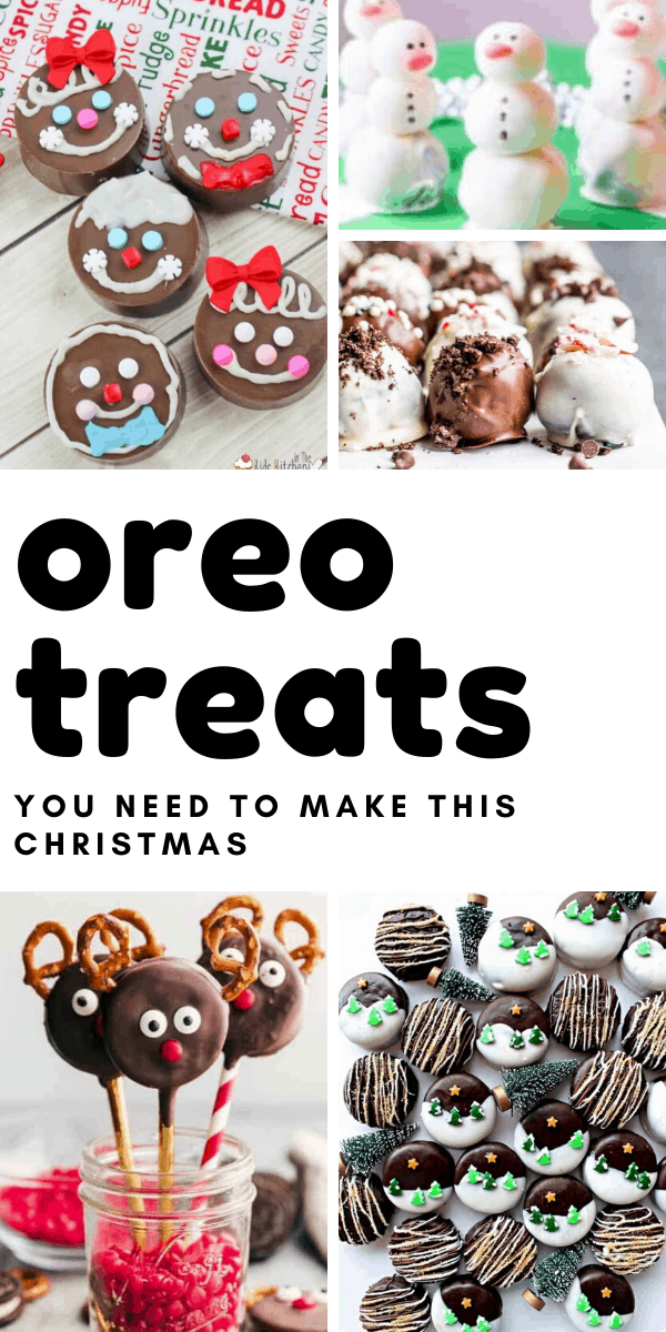 Loving these OREO treats and truffles - so many ways to make a simple cookie the star of your Christmas dessert table!