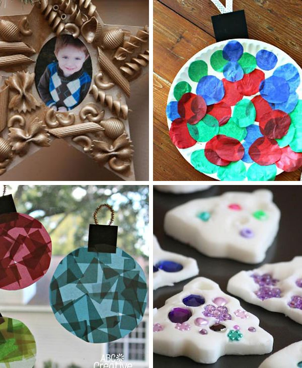 These Christmas ornaments are so cute and I love that they are easy enough for my toddler to make! Thanks for sharing!