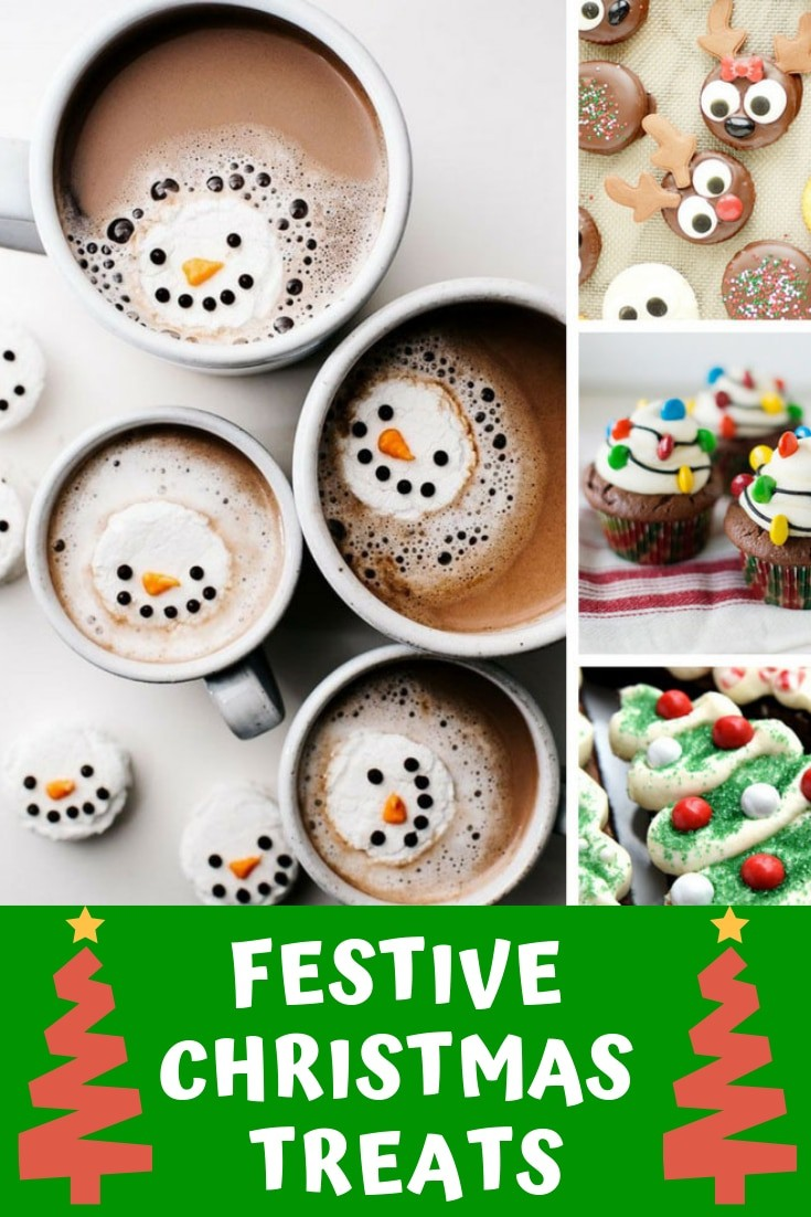 These Christmas treats are so simple to make that the kids can help - and they look so FESTIVE!