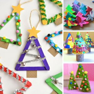 The kids are going to have so much fun making these Christmas tree crafts this Holiday Season! Thanks for sharing!