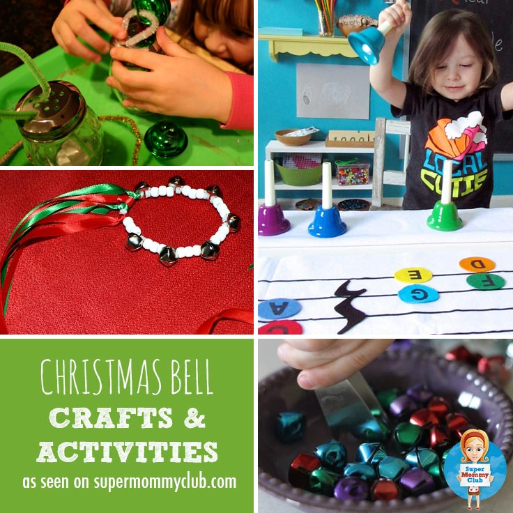 A selection of fabulous Christmas bell activities and crafts for toddlers and preschoolers