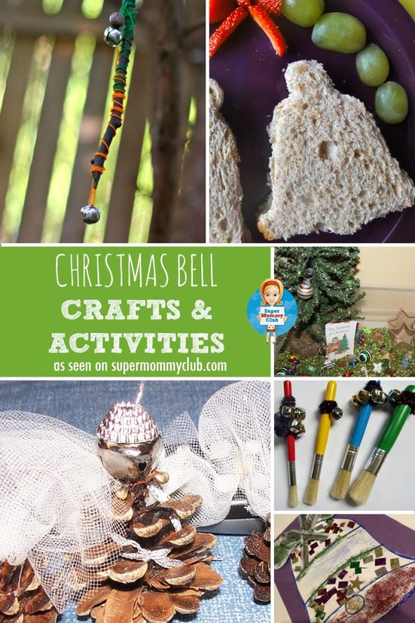 Christmas Bell Activities and Crafts for Toddlers and Preschoolers