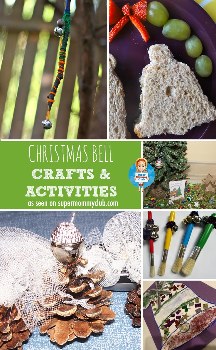 These Christmas Bell activities and crafts will help your toddler or preschooler develop their fine motor skills and creativity