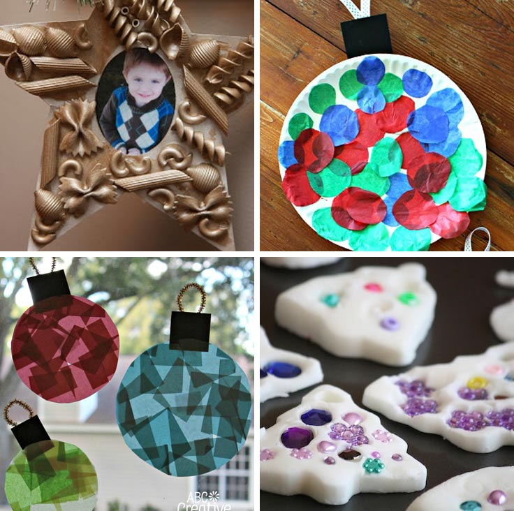 christmas ornaments made by your toddler are precious enough to give as gifts or to