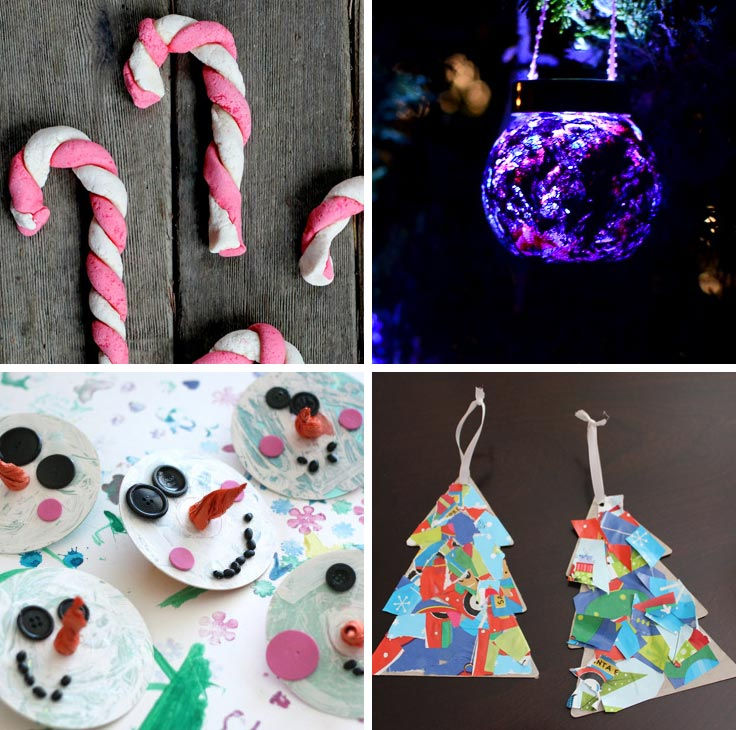 Christmas ornaments made by your toddler are precious enough to give as gifts, or to hang on the tree year after year.
