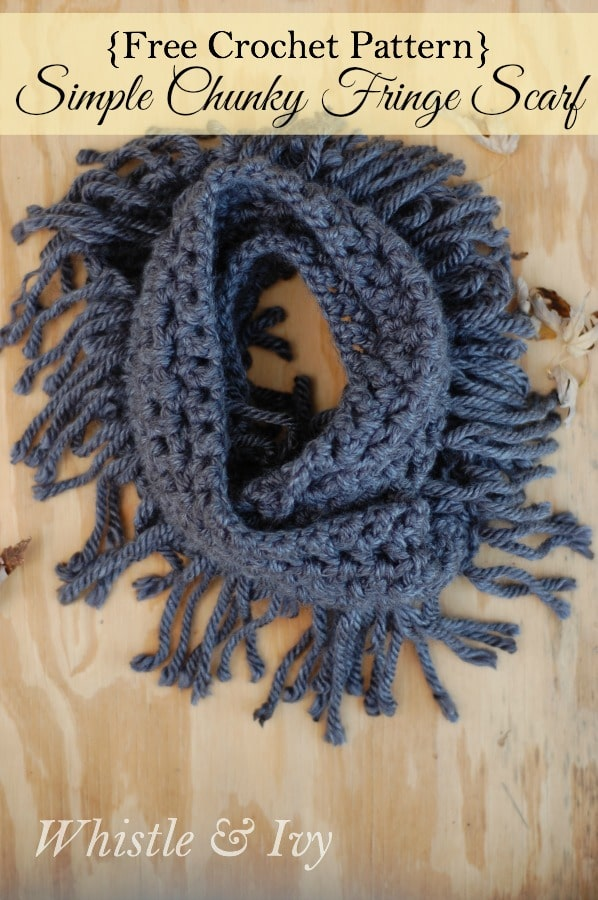 Free Infinity Scarf Crochet Patterns
