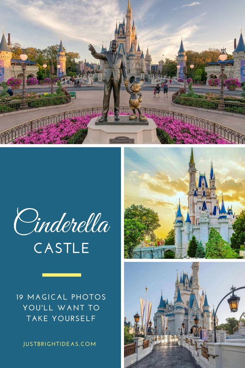 Must Try Cinderella Castle Photo Spots