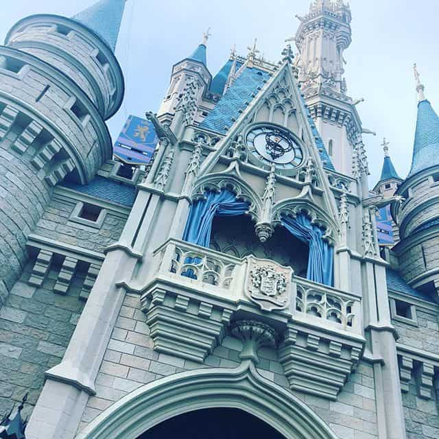 Cinderella Castle looking up