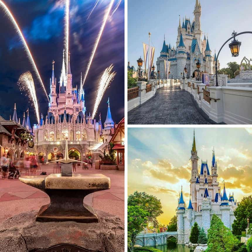 Cinderella Castle pictures you have to see
